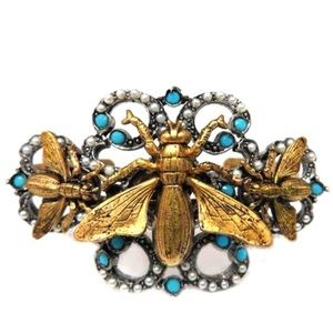 Jewelry - Stunning & Unique Insect Motif Bracelet,NWT
